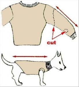 como hacer Ropa Para Perros Pequeños